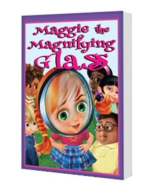 Maggie the Magnifying Glass Children's Book